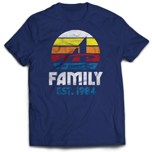 1984 Vintage Throwback Tee