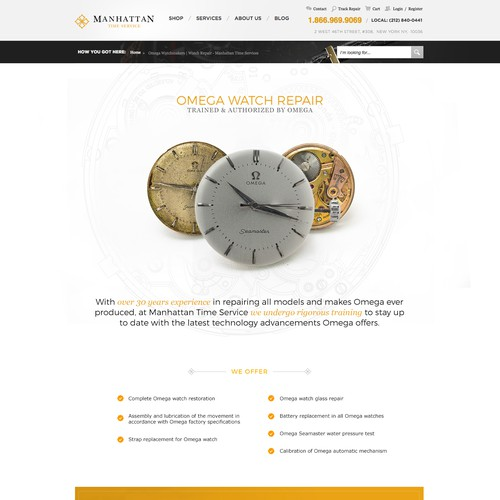Watch repair website