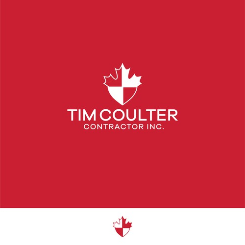 Canadian Shield Logo Design