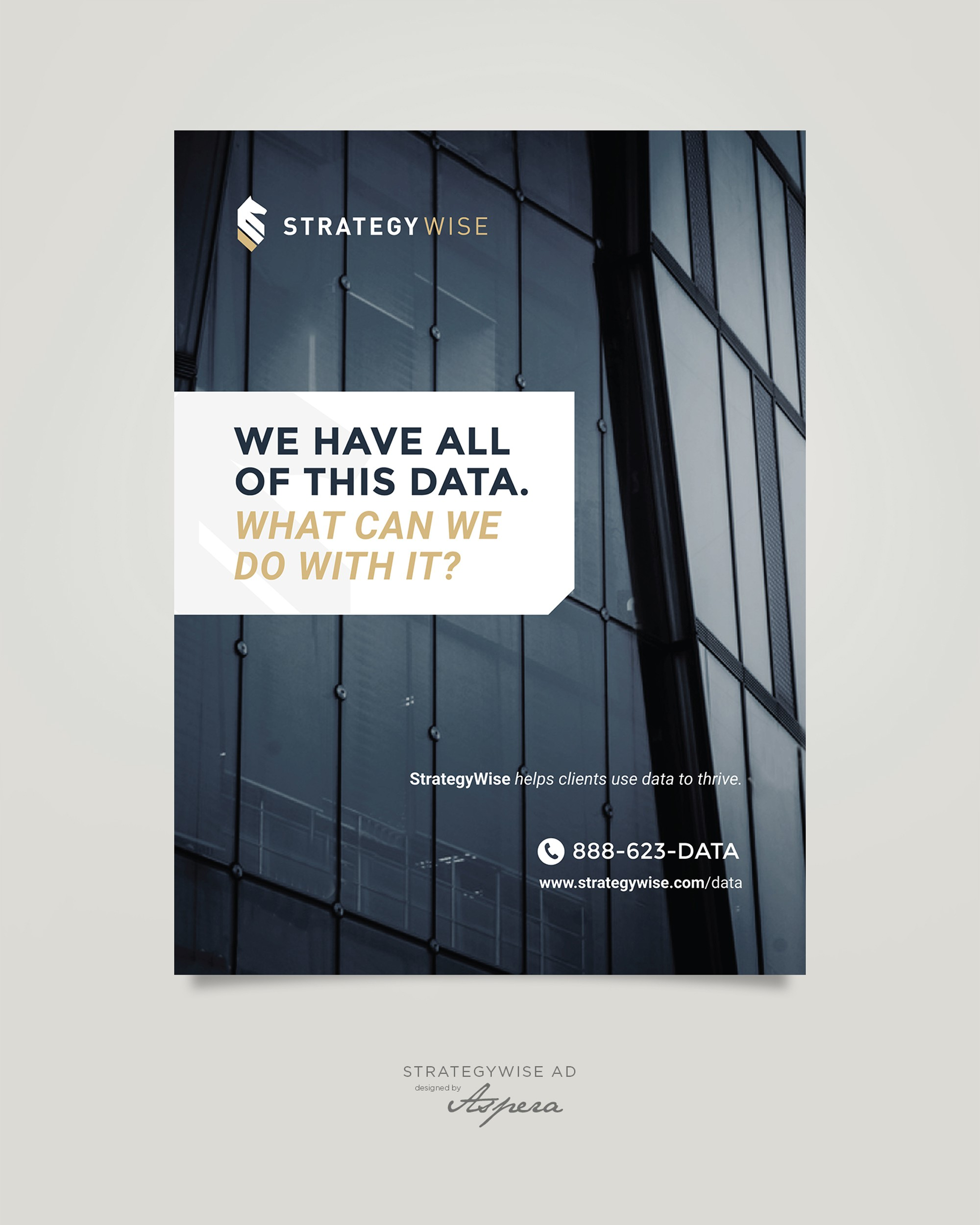 Print Ad For Big Data Firm