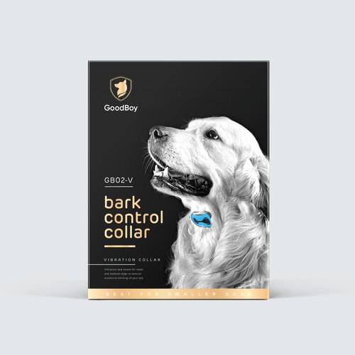 Dog bark collar box