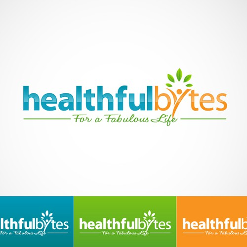 Create the next logo for HealthfulBytes