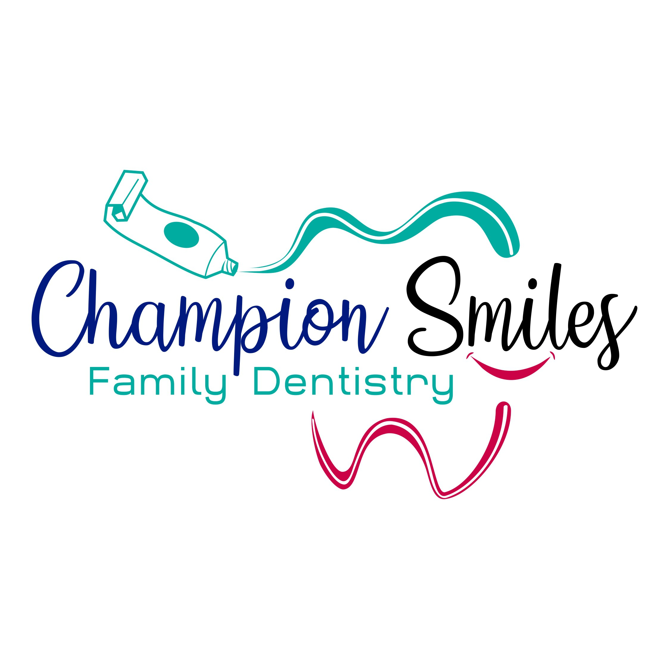 Eye catching colorful logo for compassionate dental office