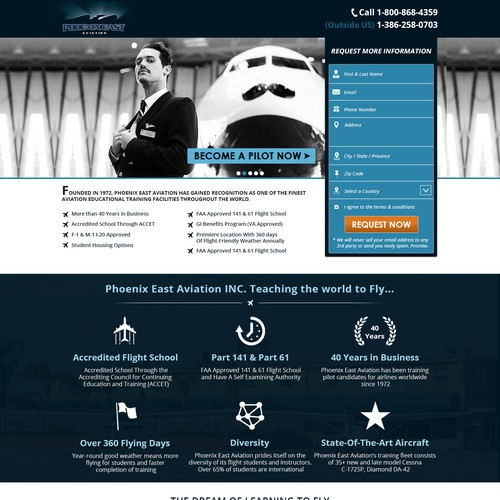Redesign Unbounce Landing Page/ Responsive
