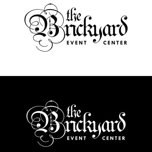 Calligraphy logo for event venue