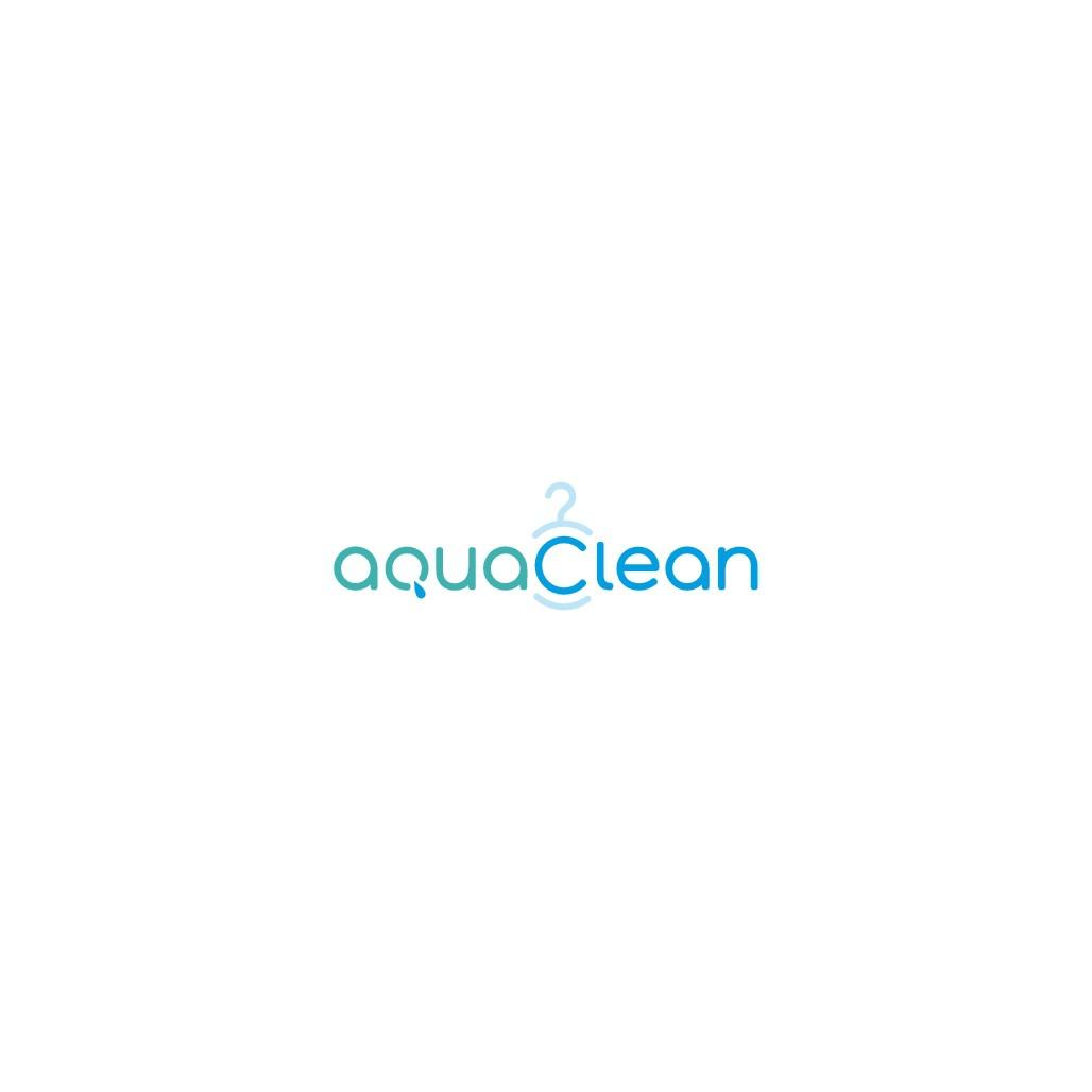 AquaClean Laundry Logo Design