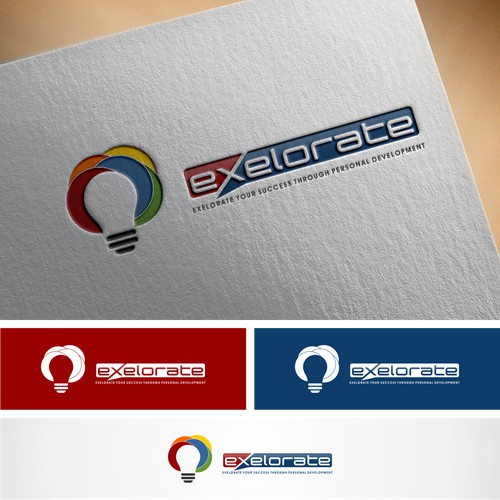 exelorate logo designs