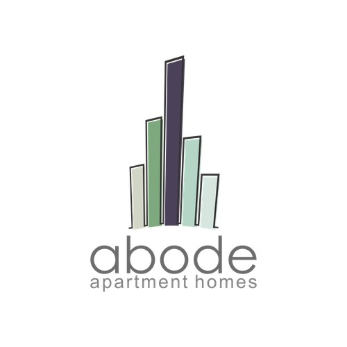 ABODE: Fun, Modern Apartment Complex Needs New Logo!