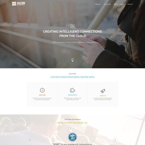 Web design for ACSI