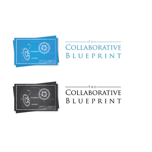 Create the next logo for The Collaborative Blueprint