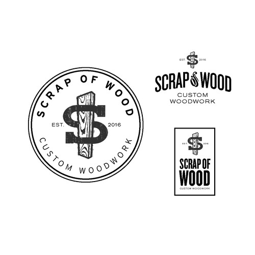 Logo for a Wood Working Company