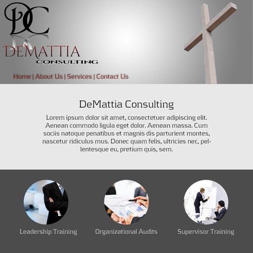Clean, Simple design for DeMattia