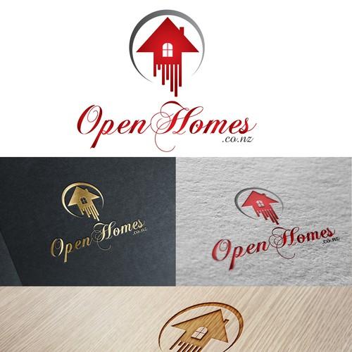 Logo for open homes