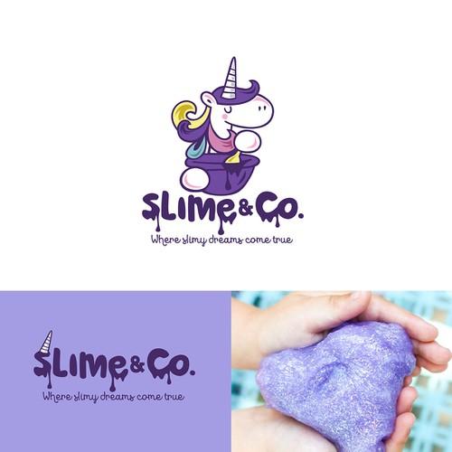 logo for Slime & Co.