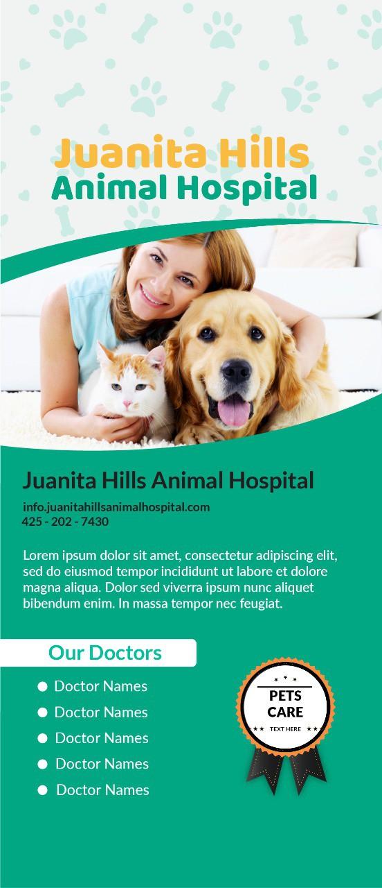 Banner, Brochure and Business Card Design (Juanita Hills)