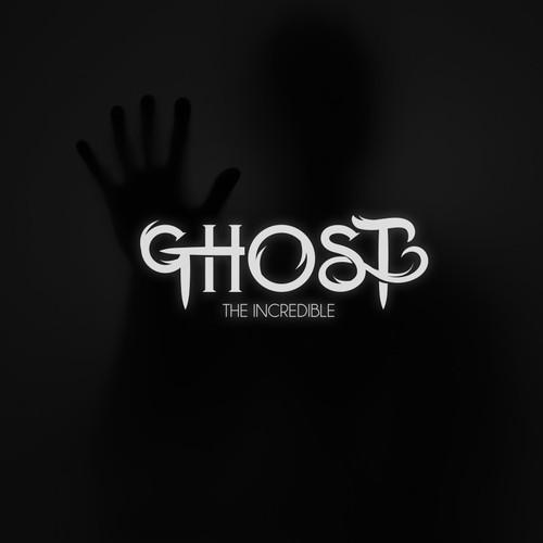 Ghost The Incredible Logo Design
