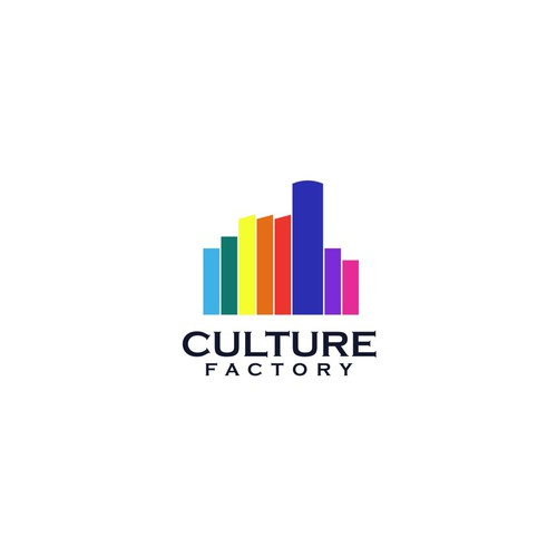Culture factory logo design