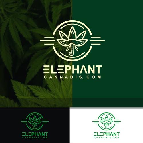 elpehant cannabis logo