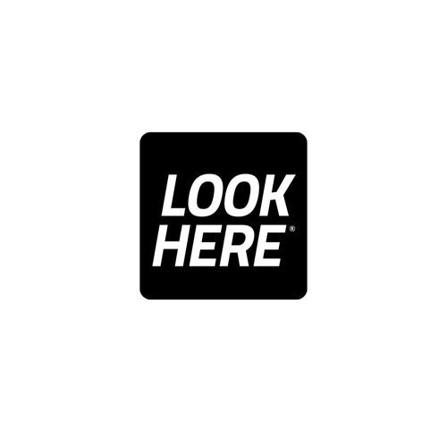 """Logo design """"LOOK HERE"""""""