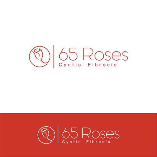 Thin concept for 65 Roses Cystic Fibrosis