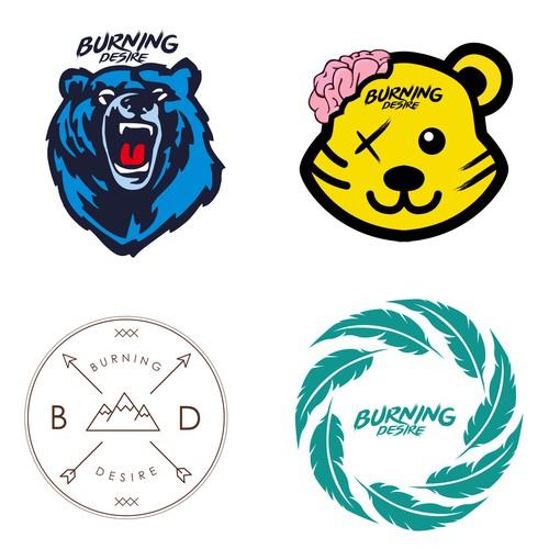 a shirt design for an alternative apparel brand/clothing company Burning Desire