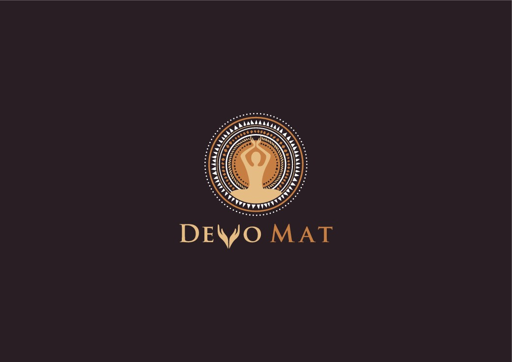Create a yogi-inspired, afrocentric, spiritually oriented logo and website layout for a devotional yoga mat!