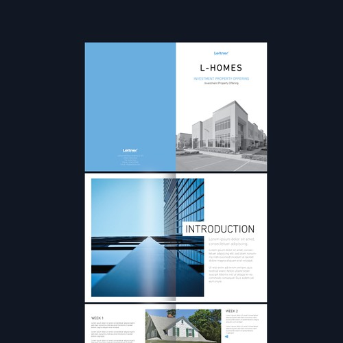 Created a quality real estate brochure for developers