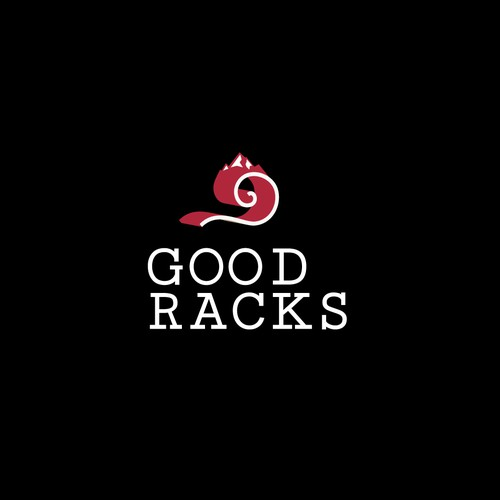 logo for wooden racks