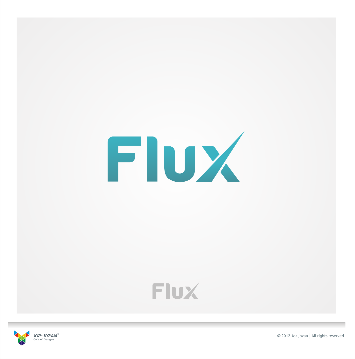 Create the next logo for Flux
