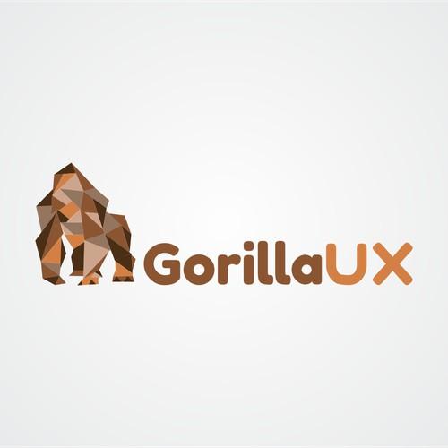 Create a Gorilla logo for an upcoming design blog / website