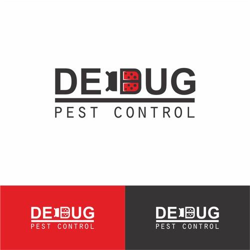 Logo concept for Debug Pest Control