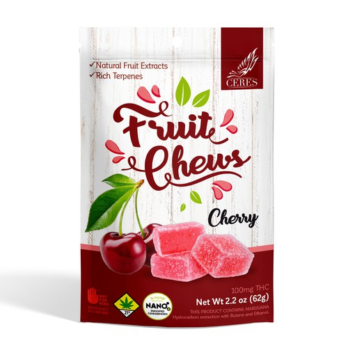 CERES fruit chews package
