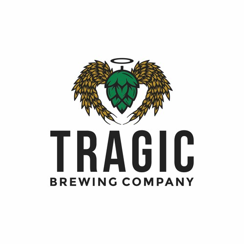 Bold Logo for Tragic Brewing Company