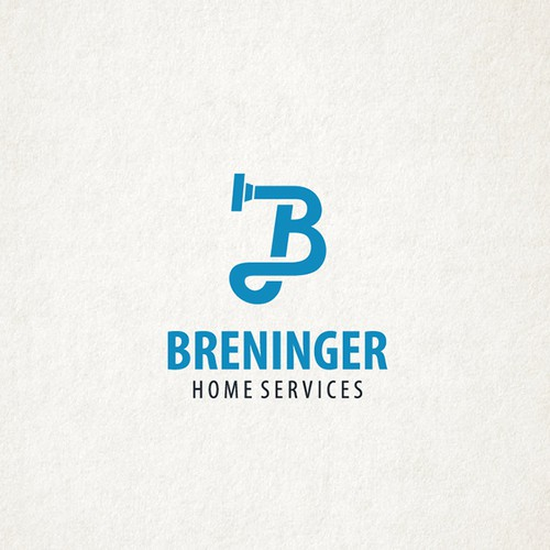 Logo concept for cleaning company
