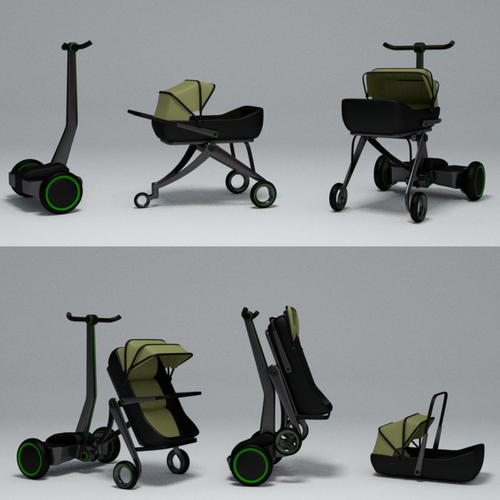 baby stoller concept