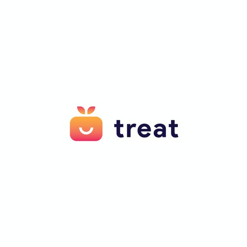 Treat - Gift App Logo Concept