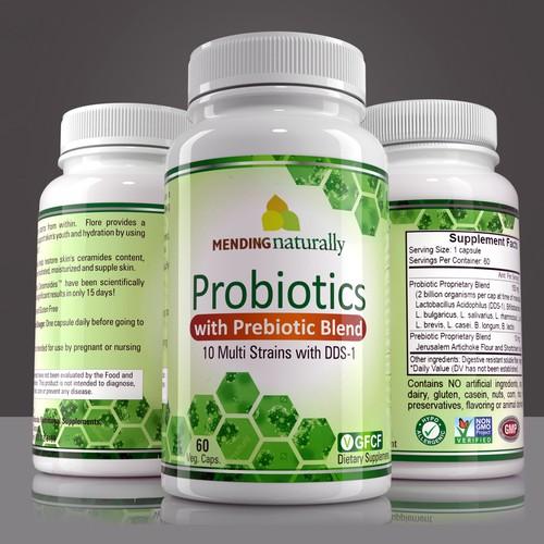 Probiotics Supplement bold