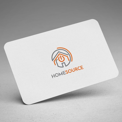 Logo Design - HomeSource