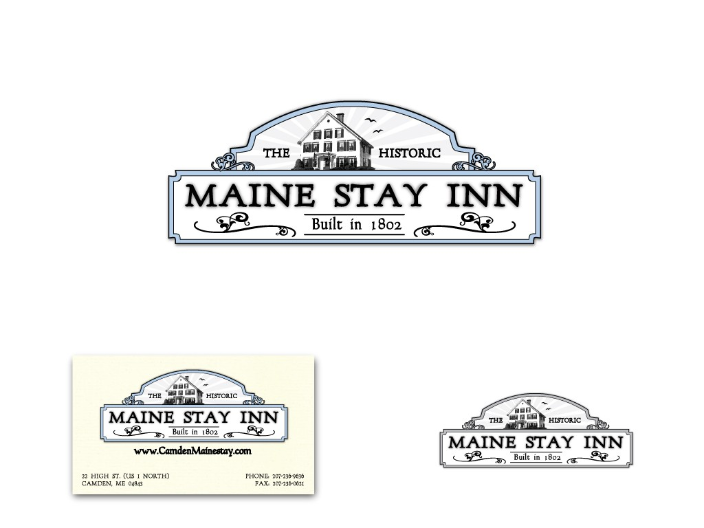 Help Maine Stay Inn with a new logo
