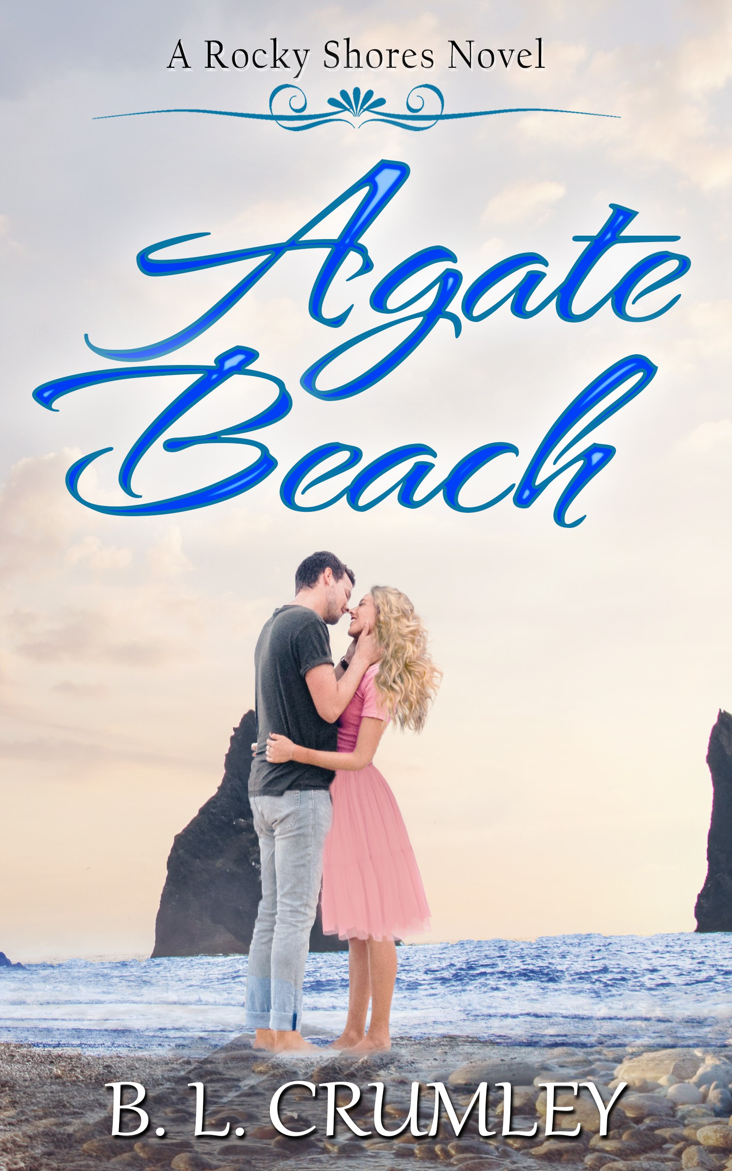 Book cover for Oregon Coast contemporary Romanc