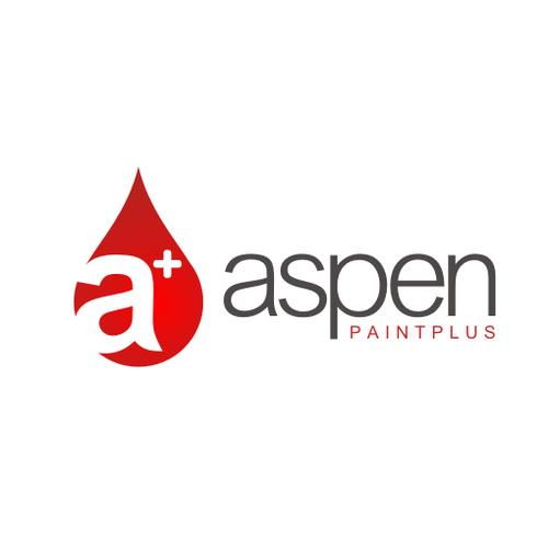 Logo Design for Aspen Paint Plus