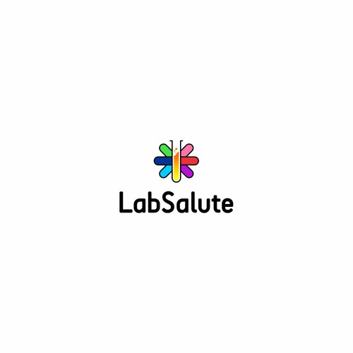 Logo concept for LabSalute