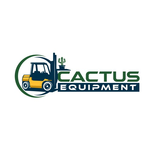 Cactus Equipment Logo Design.