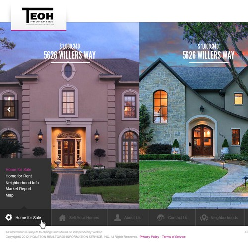 TEOH Properties needs a new website design