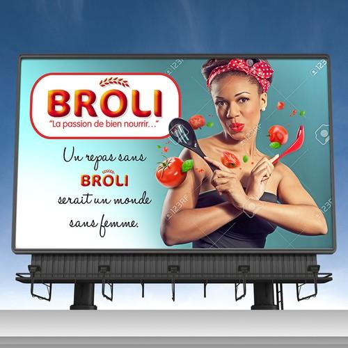 Broli Tomato Paste Billboard