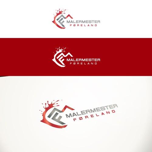 Logo Design for Malermester Føreland Painting Company