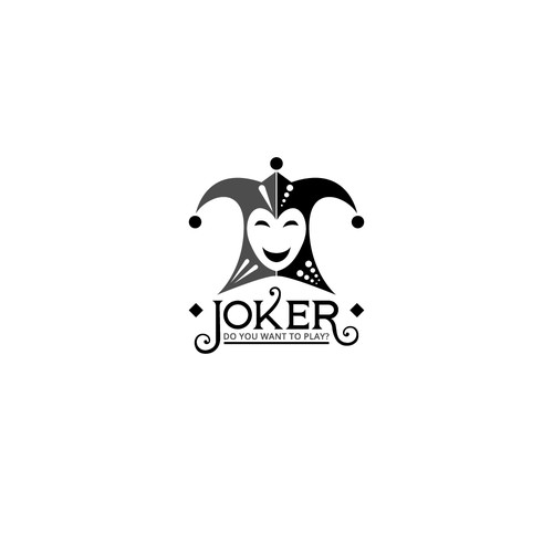 Logo design for Joker Cafe Arabia