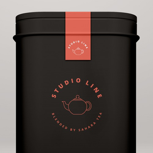 Logo concept for premium tea range