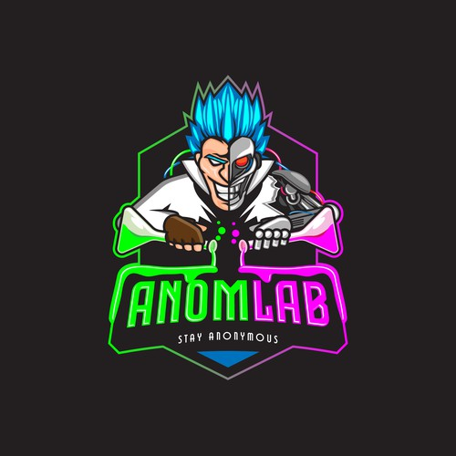 Logo for Anomlab Streetwear