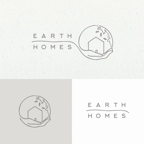 Earth Homes Logo design